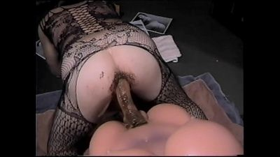 63119 - Shit Filled Butt Fucking from Behind with Mt Sex Flesh Tranny Doll