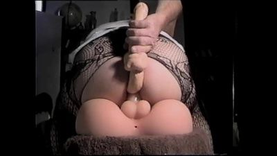 63583 - Fucked in My Ass by My Sexflesh Tranny Doll and Extra Dildos