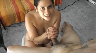 60764 - Two thumbs technique handjob