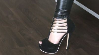 63810 - Lady Jasmine Black, new favorite shoes in the test