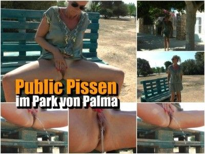 106039 - Public pissing in the park of Palma