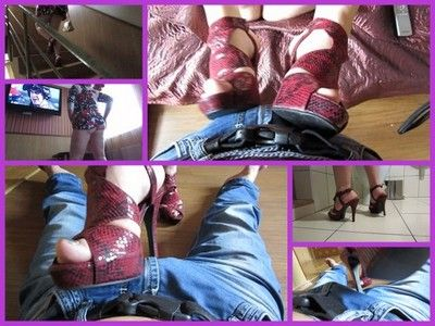 74831 - pressure on member dirty shoes