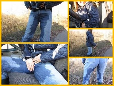 65768 - Pissing in jeans