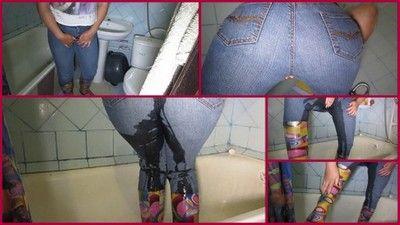 73449 - pee in jeans
