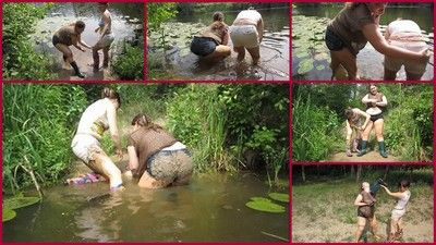 74807 - bathing the mud with his girlfriend3