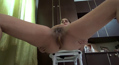 73229 - Mistress Roberta - Ass wide open for an creamy shit -pov