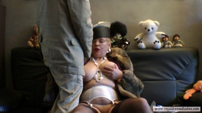 121973 - Mature BoobsPeggy blowjob in fur coat Part 1