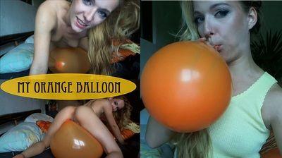 86992 - my orange balloon