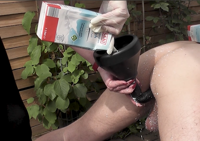 80760 - Anal abusing in the garden - part 2