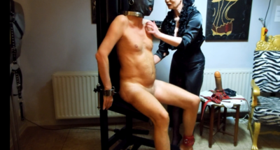 85016 - Tickling torture 2 - the slave chair