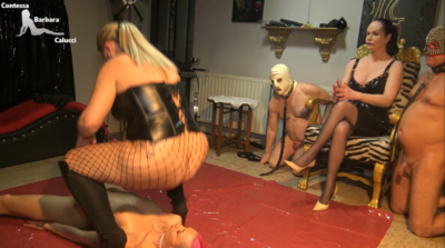 87936 - Slave girl first time creamed with scat