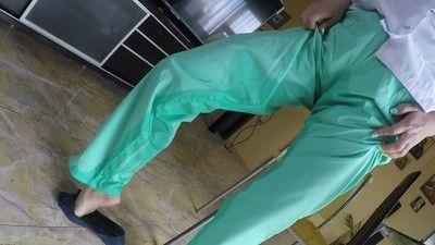 125128 - Covid19 Nurse Pee Wetting Relax