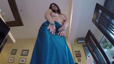 85034 - Satin Dress Strip and Pee