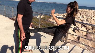 84222 - The ballbusting lesson 1