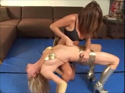 2822 - FBP-006 Robin bellypunched by Bella Part 3