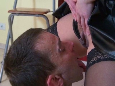 94159 - Greedy slave mouth filled with pee