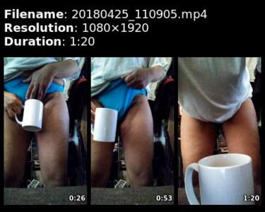91923 - Good Pee in coffee mug 4/25/2018