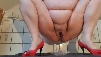 143274 - scat, ****** and red heels