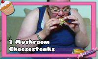 3473 - 2 Mushroom Cheesesteaks