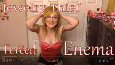 122045 - Jewelry Thief Blackmail Enema