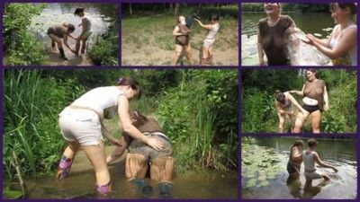 122550 - Lesbians bathe in the river 2