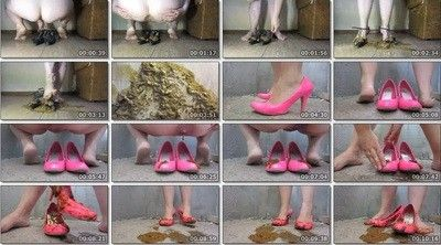 129795 - two shit in high heels.