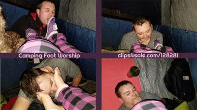 94186 - Camping Trip Foot Worship - Full
