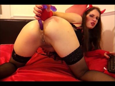 9563 - Ass Play with Dildo