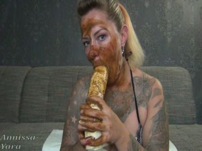 93860 - First a caviar mask and then your cock juiced
