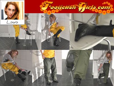 13528 - Rubber Boots And PVC Pants