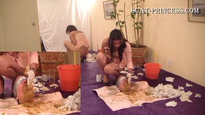 14498 - How many Girls can one Toilet Slave take Part 12