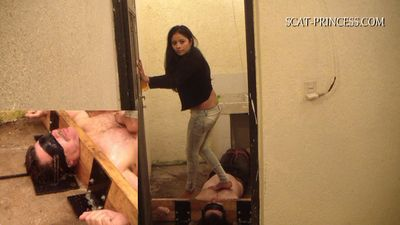 17223 - Cruel Shitting Session in Patio Part 1 Feet