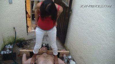 17224 - Cruel Shitting Session in Patio Part Part 2 Karey