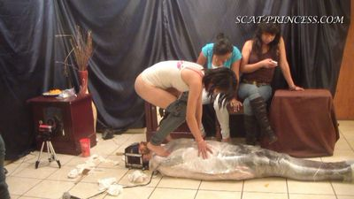 17362 - The Feeding and Filling of a Toilet Slave Part 6 Valery