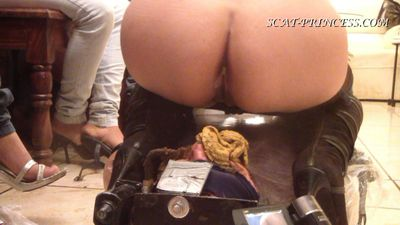 17363 - The Feeding and Filling of a Toilet Slave Part 7 Jessy