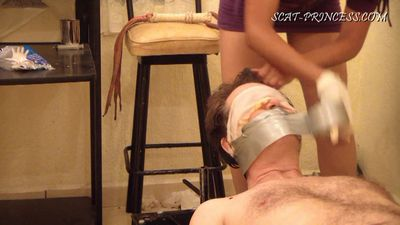 27237 - Toilet Slave and the Duct Tape Trick Part 4