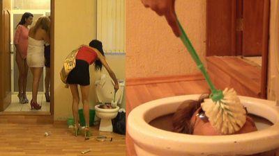 36648 - Human Toilet Bowl locked Part 7 Chrystal