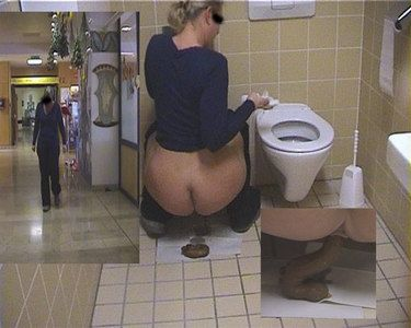 42468 - Womans Toilet at department store..