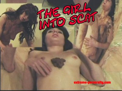 34454 - The scat loving girl
