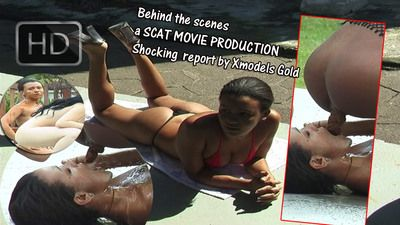64188 - Behind the scenes a Scat Movie Production...