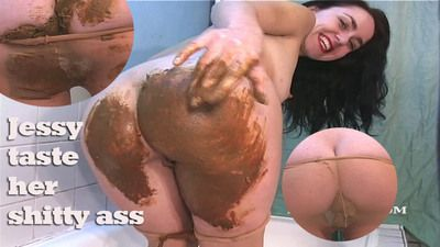 63790 - Jessy - Taste her shitty ass!