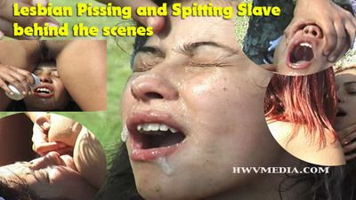 65204 - Lesbian Spitting and Piss Drinking