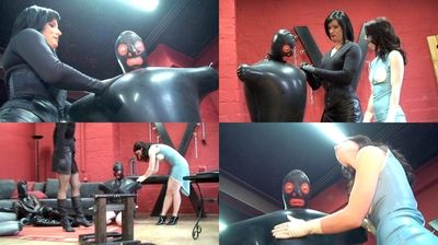 16543 - Like a ball - pumped up in latex