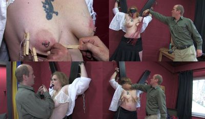17818 - Humiliation and caning of the slave girl