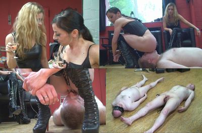 18156 - Thoroughly licks you slaves!