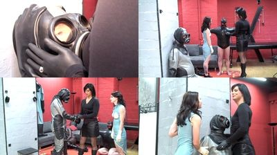 42431 - Breathing control with the gas mask slave