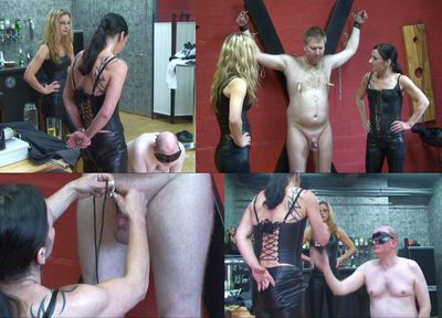 43628 - Egg torture and pee for the slaves