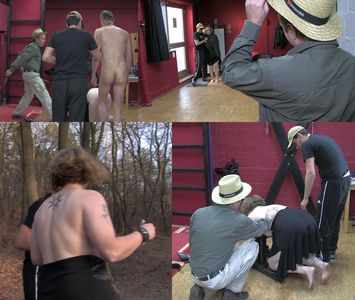 44398 - The attempt to escape of the fat slave girl
