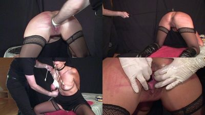 45065 - Ligated tits and hard beatings