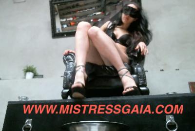 21955 - MISTRESS GAIA THRONE SCAT